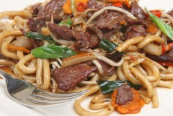 Chinese Chilli Beef Noodles