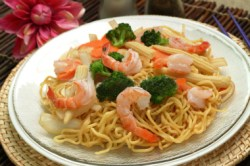 Chinese Shrimp Chow Mein